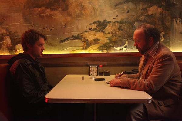 Chase Williamson and Paul Giamatti in JOHN DIES AT THE END, a Magnet Release.
