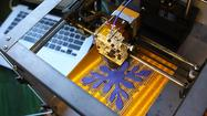 With 3-D printers, solid objects may be several clicks away