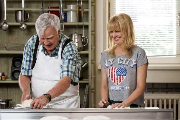 "James Best and Kathryn Morris star in the new romantic comedy ""The Sweeter Side of Life"" on Hallmark."