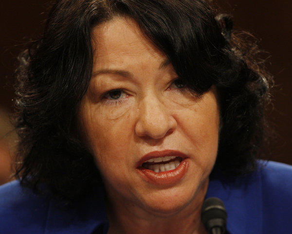 Supreme Court Justice Sotomayor