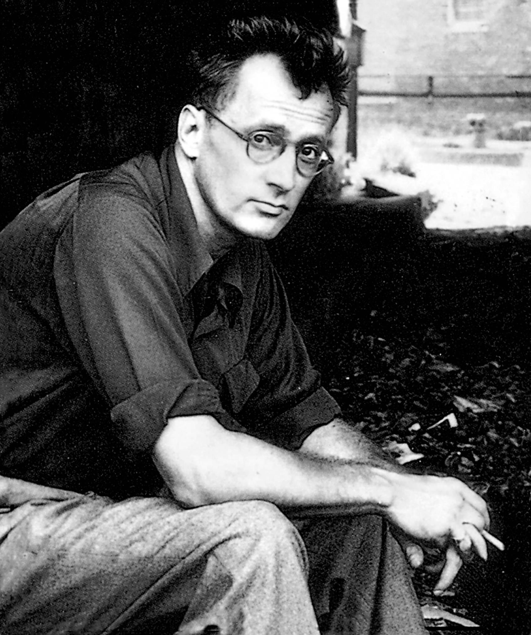 Nelson Algren (1909-1981) american writer, c. 1950