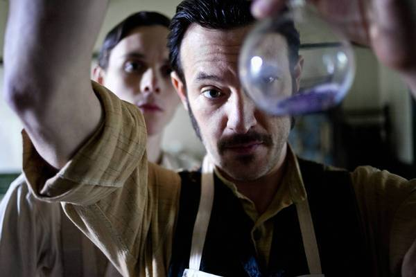 "Jonathan Barnwell, left, and Adam Rothenberg in a scene from ""Ripper Street."""