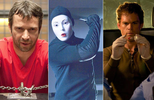 "With the debut of NBC's ""Hannibal,"" one more serial killer is joining the ever-swelling ranks of the once-neglected character archetype on TV. Serial killers used to be restricted to cinematic thrillers and the last few minutes of the occasional ""Law & Order.""<BR><BR> But increasingly, they're everywhere and not just on cop shows. In fact, in one case, a serial killer <i>is</i> the cop.  <BR><BR> Here are a few of the most notable killers to have graced the small screen in the past few years. Some have been caught, some have paid the ultimate price and others ... well, others are still out there."
