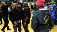 Simeon principal Sheldon House told the Tribune on Friday that access to a game between the Wolverines and Julian at the high school was limited and that the media was not allowed inside the gym.