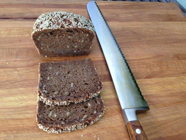 Rye bread from Copenhagen Pastry in Culver City