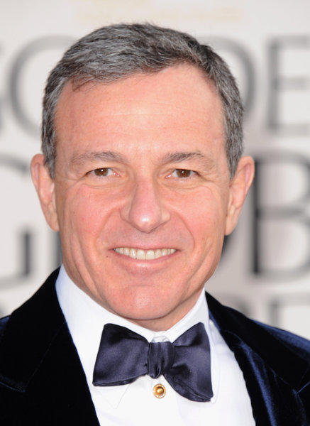 Robert Iger, Walt Disney Company chairman and CEO, arrives at the 70th Annual Golden Globe Awards at the Beverly Hilton Hotel on Jan. 13.