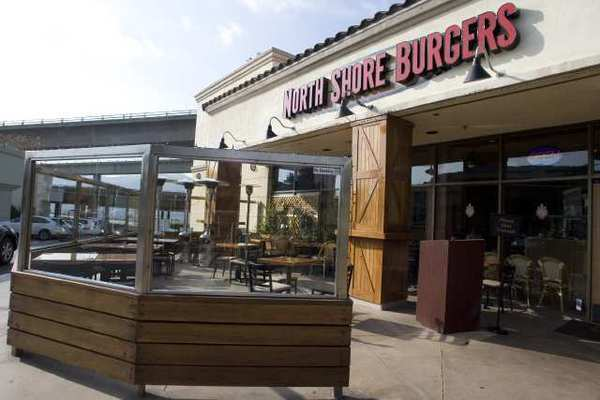 North Shore Burgers was one business hit by thieves who stole patio heaters, according to sheriff's officials.