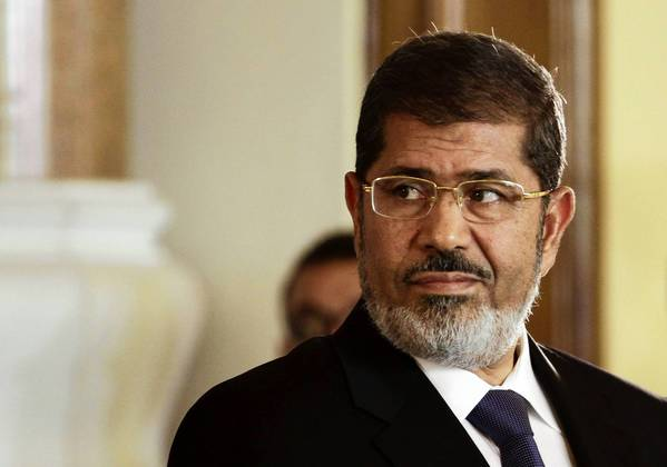 "In a 2010 speech, Egyptian President Mohamed Morsi called Zionists the ""descendants of apes and pigs."""