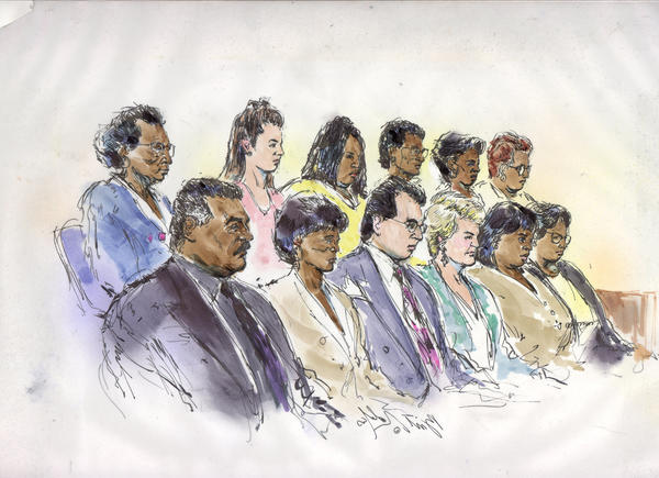 It's a jury's job to determine whether a crime was committed.