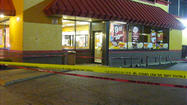 Raw Video: Scene of Popeye's shooting