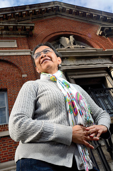 Gladys Rojas is executive director of the Comunidad Latina de Washington County. She said observing Martin Luther King Jr. Day through volunteerism is a perfect fit for Comunidad Latina, as all of the organization¿s workers are volunteers.