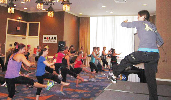 Masala Bhangra is a cardio workout with simple steps, according to Zumba instructor Anita Binder.