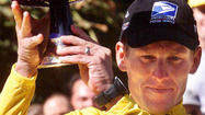 CHICAGO (AP) — Lance Armstrong finally cracked.