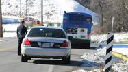 PHOTOS: Valley Metro Bus Pulled Over To Be Searched After Bomb Threat