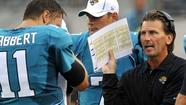 The Oakland Raiders have reportedly hired former Jacksonville Jaguars quarterback coach Greg Olson to be offensive coordinator.
