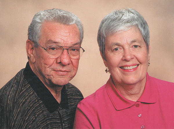This 2008 or 2009 photo of Don and Mary Sue Burley was taken for their church directory.