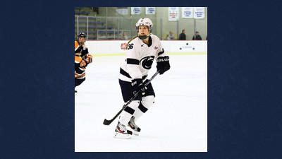 Former Windber standout Tess Weaver is a sophomore forward with the Penn State womens hockey team.