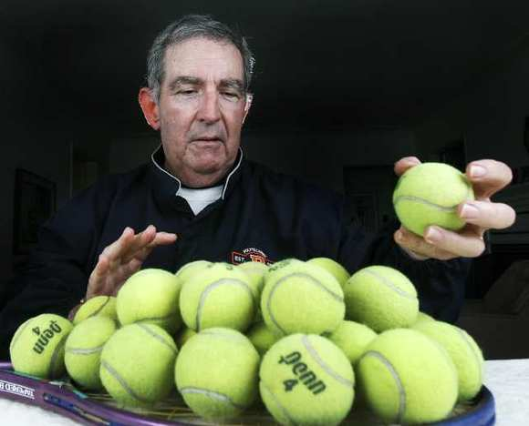 Former 45-year tennis coach Howard Farer of Pasadena Poly was named this year's SCTA Coach of the Year earlier this week. (File Photo)
