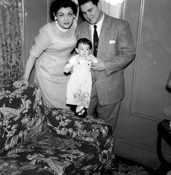 Sonia Sotomayor with her parents in a family photograph. The associate justice has written an unusually candid memoir of her early years that, if anything, makes her rise seem more improbable.