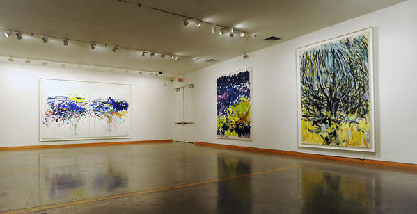 Paintings and works-on-paper are on loan from the Joan Mitchell Foundation Visit the Zoellner Arts Center at Lehigh University.