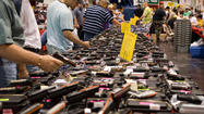 5 hurt in shootings at gun shows in Ohio, Indiana, NC