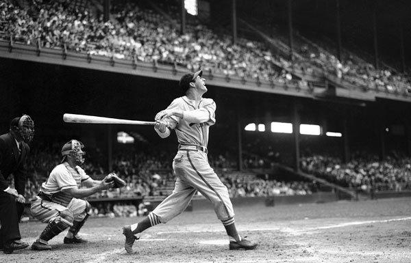 """""""Stan Musial was the greatest player in Cardinals history and one of the best players in the history of baseball,"""" William DeWitt Jr., the Cardinals' chairman, said Saturday. Musial, seen here in May 1946, died at 92."""