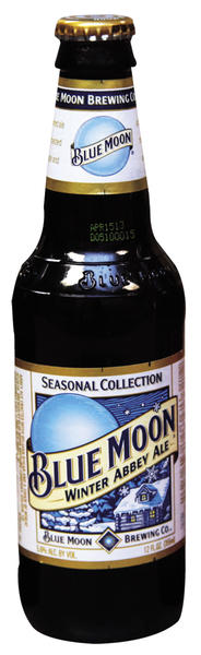 Blue Moon Winter Abbey Ale is among beers recommended to try in winter.