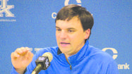 LEXINGTON — The offense that Neal Brown will implement at Kentucky — and the one he successfully used at Troy and Texas Tech — is going to be different from what the Wildcats have used. However, the new offensive coordinator says it is his job to best utilize the talent UK has.