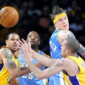 Jordan Farmar, Shannon Brown, Anthony Carter, Chris Andersen