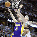 Jordan Farmar, Chris Andersen, Nene