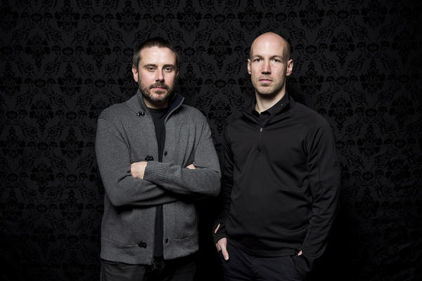 """Dirty Wars"" screenwriter Jeremy Scahill and director Richard Rowley at the Sundance Film Festival."