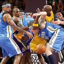 Chris Andersen, Lamar Odom, Kobe Bryant