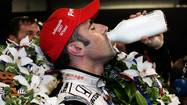 Winners of the Indianapolis 500 drink milk to celebrate their victory; perhaps winners of the Nobel Prizes do the same after receiving a congratulatory phone call from Stockholm.