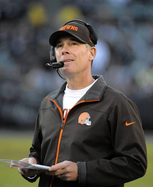 Pat Shurmur was fired after two season as head coach of the Browns. He worked for the Eagles from 1999-2008.