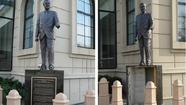 Cops: Harold Washington statue damaged at South Side cultural center