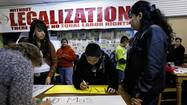 As President Barack Obama gets sworn in for his second term Monday, immigration activists in Chicago plan a march downtown to protest administration policies that have led to a record number of deportations.
