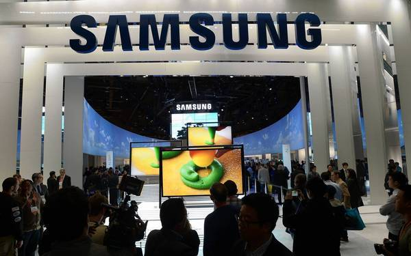 The Samsung booth dominated the 2013 International Consumer Electronics Show, displaying the company's broad range of products.
