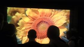 CES 2013: Sharp shows off super-sharp 8K TV, waits for content
