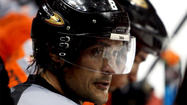 Teemu Selanne's scoring exploits simply defy description. The Ducks right wing opened his 21<sup>st</sup> NHL season Saturday by contributing two goals and two assists in the team's 7-3 rout of the Canucks at Vancouver, another stellar performance in a seemingly never-ending career.