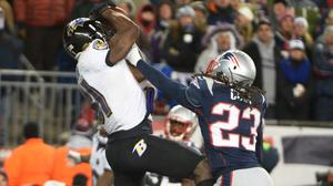Ravens stun Brady, Patriots in New England
