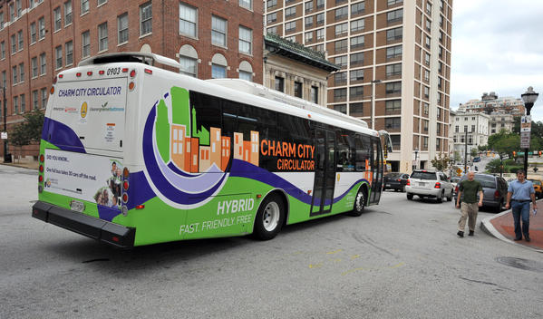 <b>Baltimore:</b> Well, the Charm City Circulator for one. It's free! Plus, the Water Taxi is pretty cool and beloved by tourists. We miss you, trolleys!