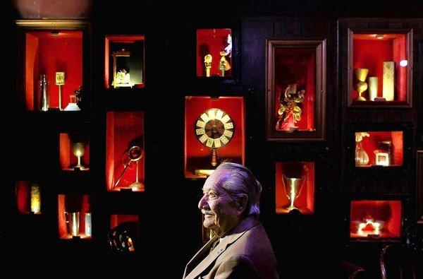 Milt Larsen, founder of the Magic Castle in Hollywood.