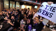 Fans Watch Ravens Win at the Charles Village Pub [Pictures]