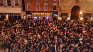 People pack Federal Hill to celebrate Ravens' victory