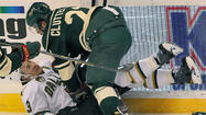 ST. PAUL, Minn.-- Zach Parise scored his first goal with Minnesota.