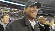 Holding a victory cigar in his right hand, Ravens owner Steve Bisciotti was obviously an extremely happy man following the AFC championship game.