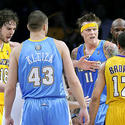 Pau Gasol, Shannon Brown, Chris Andersen