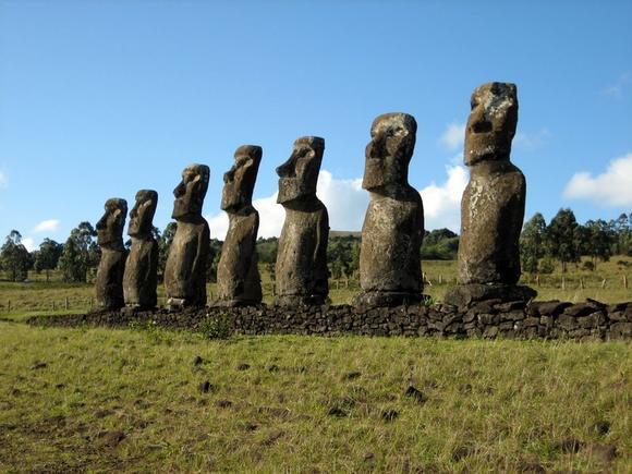 Photo: Easter Island, Chile