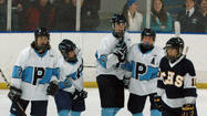 The Petoskey hockey team was just as good the second time around against Cadillac, as they downed the Vikings, 3-2, in Friday's Big North meeting.