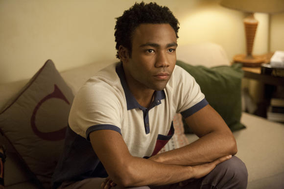 Sandy (Donald Glover), don't go!